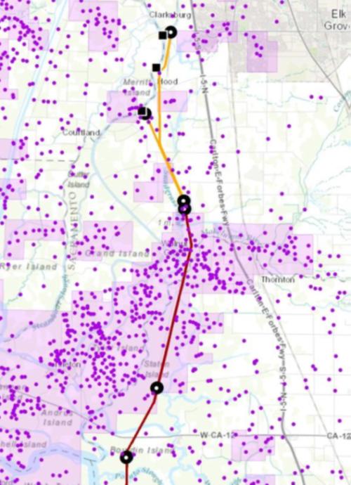 gas field map